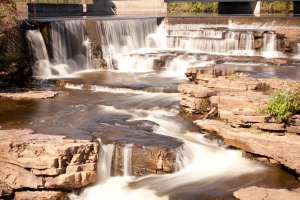01 Almonte Falls Original Image by Ron Pierce