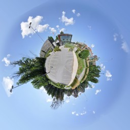 Beaverbrook Library Tiny Planet by Bill Robertson